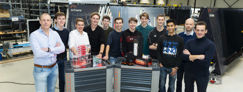 Group picture students Gilde Opleidingen, CIV and Inther Group