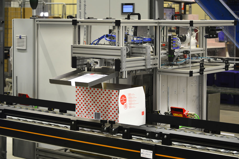 Automated Document Inserter HEMA Inther Group